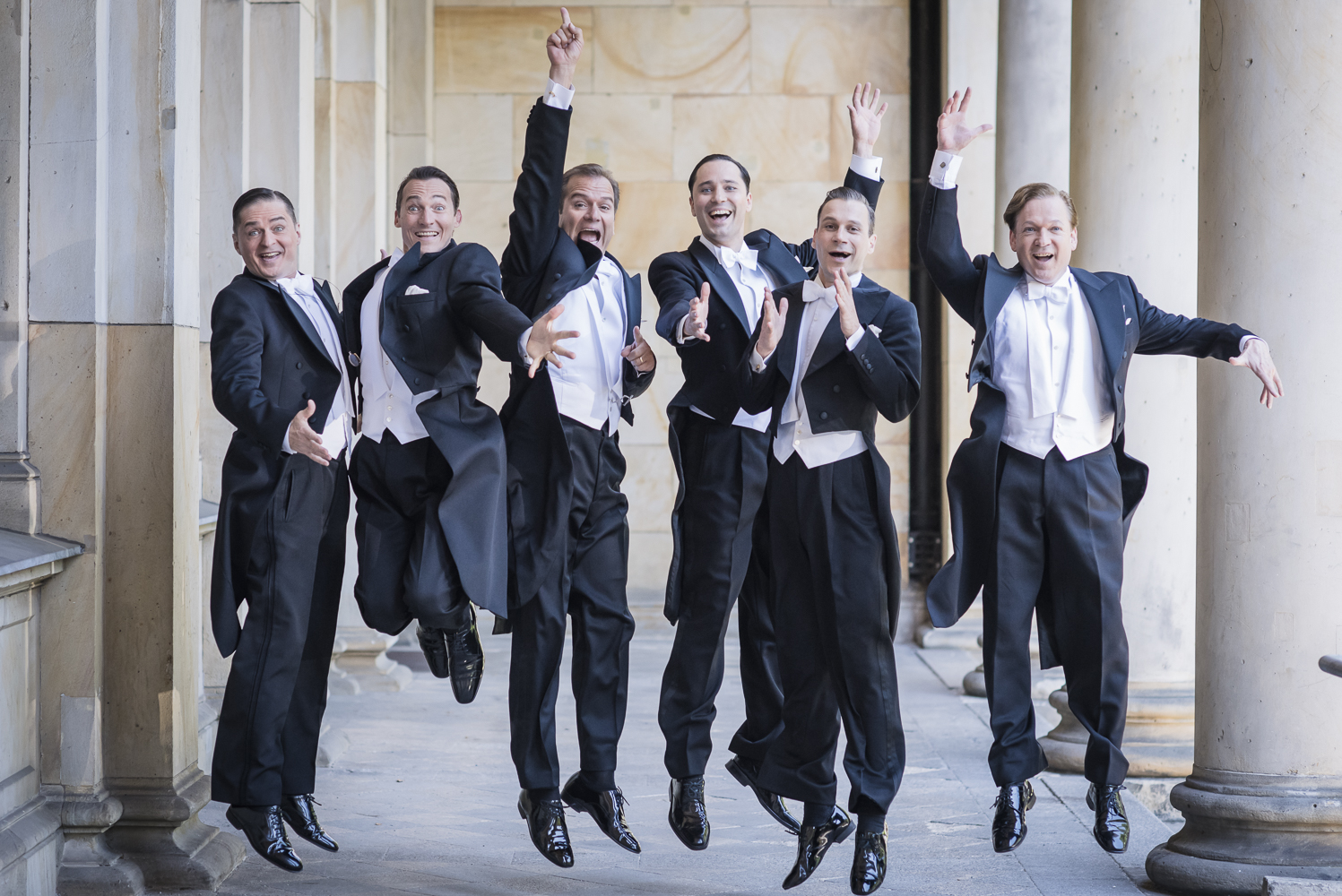 Berlin Comedian Harmonists, Foto Oliver Betke